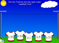 Integers, Small One, Place Values, Places, Lugares