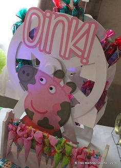 Peppa Pig Birthday Party Ideas | Photo 3 of 32 | Catch My Party
