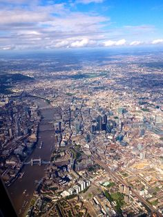 Sunshine over London, England