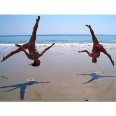 Aerials on the beach(:... Want to do with my friends!(: