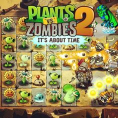 Plants Vs Zombies 2 It's About Time Plants Vs Zombies 2, Zombie 2, I Am Game, Iphone, Yoshi, Bowser, Video Games, Instagram, Android
