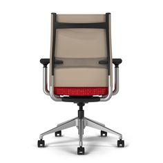 The award winning Wit task chair with Thintex comes in 12 vibrant back colors with comfort unheard of at its price point in office seating.