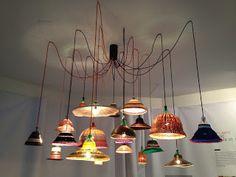 DCorandobyalba: Lámparas de cable textil