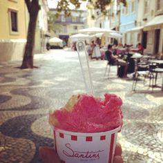 Gelados Santini in Lisbon