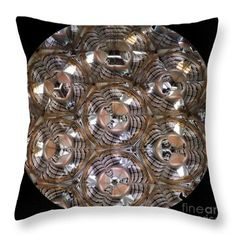 Throw Pillow featuring the photograph Kaleidoscope Ma1 by Equad Images