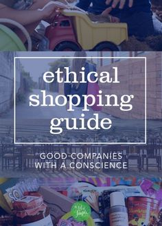 ethical shopping guide