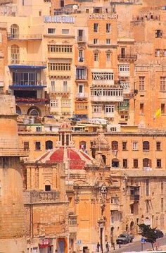 Malta - I stayed in Valletta for five days. The sweetest hostel grandma told me…