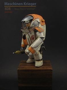 "Ma.K / SF3D / Maschinen Krieger PKA G ""Gustav"" from Wave, built and painted by JSAN9"