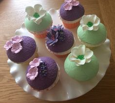 Vanilla Sky Cupcakes
