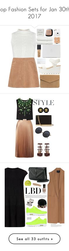 """""""Top Fashion Sets for Jan 30th, 2017"""" by polyvore ❤ liked on Polyvore featuring See by Chloé, Fuji, Linum Home Textiles, NARS Cosmetics, Byredo, L'Oréal Paris, contest, happy, love and featureme"""