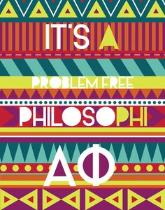 Alpha Phi Philosophi Poster by prettyprintabilities on Etsy, $6.00