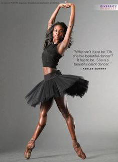 Beyond Role Models: Straight Talk From Ashley Murphy, Ebony Williams and Misty Copeland Black Dancers, Ballet Dancers, Dancers Feet, Ballet Beautiful, My Black Is Beautiful, Baile Jazz, Ashley Murphy, Black Ballerina, Misty Copeland