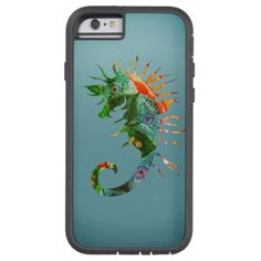 Seahorse Art  iPhone 6/6s Tough Xtreme Tough Xtreme iPhone 6 Case - horse animal horses riding freedom