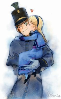 Hans and little Elsa - OKAY, JUST ONE QUESTION: WHY<--- because