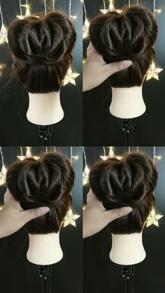 Most recent Free Hairstyle Tutorial 685 Thoughts Each hairstyle has its quality, and can be independently carried. There are so several pretty hair Easy Hairstyles For Long Hair, Hairstyles For School, Braided Hairstyles, Buns For Long Hair, Layered Hairstyles, Short Hair Styles, Natural Hair Styles, Hair Upstyles, Purple Hair