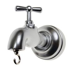 Tap Hanger Chrome, $27, now featured on Fab. this is so unique!!! love it!