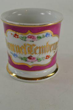 Samuel Temberger, personalized shaving mug