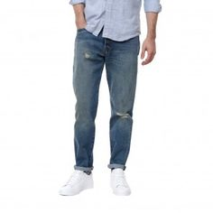 Purchase Levi's jeans and clothing from Number Six, London's best retailer for fresh contemporary menswear. Levis 501, Levis Jeans, Number Six, Tapered Jeans, Menswear, London, Pants, Clothes, Shopping