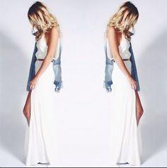 White Onyx Dress by Stone Cold Fox http://store.thestonecoldfox.com/products/onyx-gown-3