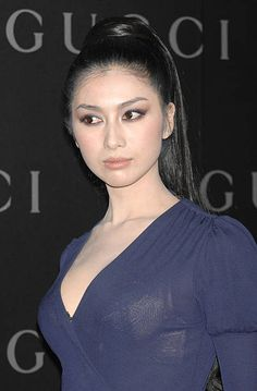 Fuyuko Matsui during GUCCI Ginza Flagship Store Opening Reception Party Arrivals at Tokyo Port Terminal in Tokyo Japan