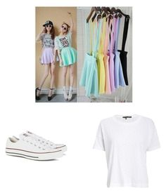 """""""Surprise dance outfit"""" by alexandrap1742 on Polyvore featuring Converse and rag & bone/JEAN"""