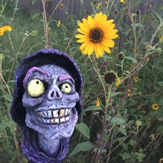 Reserved for M: The Grin Reaper Blacklight by scatterbirdie