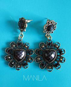 aretes Drop Earrings, Jewelry, Fashion, Stud Earrings, Moda, Bijoux, Drop Earring, Jewlery, Fasion