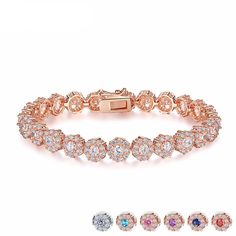 ❤Rose Gold Chain Link Bracelet Shop styledrestyled.com for the latest trendy jewelry More Color Options available