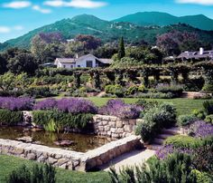 Cottages at San Ysidro Ranch in Montecito, CA. Just gorgeous!