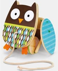 Skip Hop 'Treetop Friends - Flapping Owl' Pull Toy   $20.00
