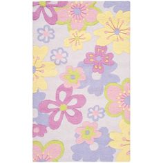 Found it at Wayfair - Haas Hand-Tufted Pink/Purple Area Rug