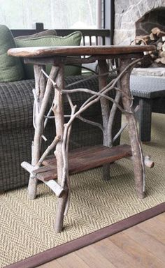Great Stick Table!