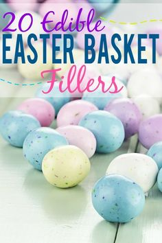 20 Edible Easter Basket Fillers ideas for kids - Fill your Easter baskets with a variety of goodies this year with these 20 Edible Easter Basket Fillers ideas that are perfect for kids! Diy Craft Projects, Craft Tutorials, Diy Crafts, Special Kids, Easter Celebration, Easter Holidays, Easter Crafts For Kids, Easter Treats, Cooking With Kids