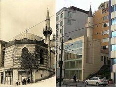 1. Süheyl Bey Camii 1591 yılında, Beyoğlu Fındıklı'da, Süheyl Bey tarafından Mimar Sinan'a inşa ettirilen camii sekizgen planlı ve kubbeliydi. Restorasyondan sonra ise cam kaplanan ve sekizgen yapısı bozulan camii artık daha çok bir avm'ye benziyor.