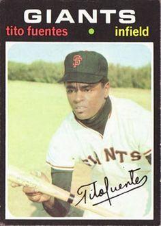378 - Tito Fuentes - San Francisco Giants