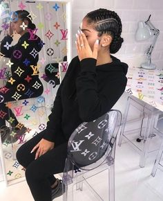 Hair Style Girl how to style really short hair black girl Black Girl Braids, Braids For Black Hair, Girls Braids, Short Hair Dont Care, Really Short Hair, Box Braids Hairstyles, Girl Hairstyles, Hairstyles Pictures, Hairstyles 2016