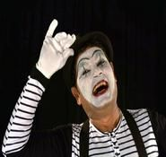 Indian entertainer and mime artist for private and corporate event hire.