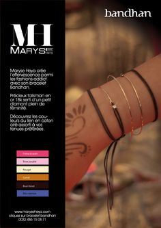 Bandhan Bracelet 18K Gold / Diamond  www.maryseheya.com and click Bracelet Bandhan #jewellery