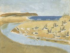 Winifred Nicholson 'Sandpipers, Alnmouth', 1933 © The Trustees of the estate of Winifred Nicholson