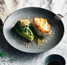 Merluzzo Skrei al burro con broccoli e nocciole