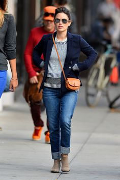 Rachel Bilson in Soho, New York City