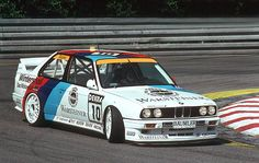 Steve Soper, BMW M3, DTM, sideways. Touring car magic.
