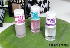 Maybelline Dr. Rescue cc nails - base coat, gel effect - top coat and all in one