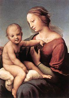 Raffaello Sanzio - Madonna and Child (The Large Cowper Madonna) - WGA18657 - Raffaello Sanzio - Wikimedia Commons