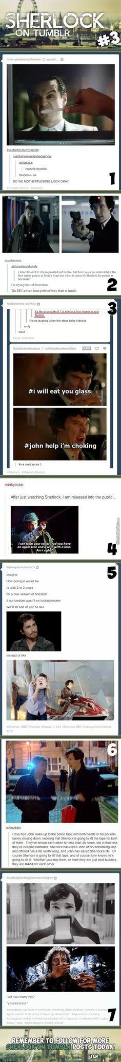 Sherlock On Tumblr #3