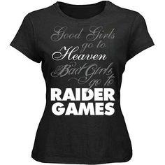 Bad Girls Raiders 4 Life Women's Shirt