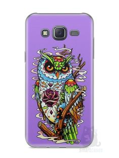 Capa Samsung J5 Coruja #2 - SmartCases - Acessórios para celulares e tablets :)