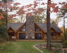 Alaska Log Home Plans Best Log Homes Not Just Your Grandmas Little Log Cabin Images Of Alaska Log Home Plans Log Cabin Living, Log Cabin Homes, Log Cabins, Mountain Cabins, Mountain Homes, Log Home Plans, House Plans, Barn Plans, Chalet House