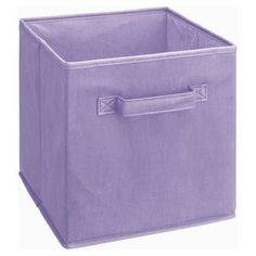 ClosetMaid Fabric Drawer Light Purple