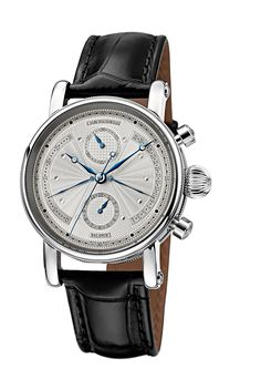 £7.6K One 5 star review Chronoswiss Sirius Retrograde Men's Automatic Watch with Silver Dial Chronograph Display and Black Strap 7543B: Amazon.co.uk: Watches